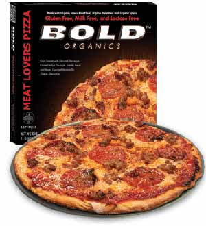 Bold Organics Gluten-Free and Dairy-Free Pizza