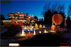 Alek's Controllable Christmas Lights for Celiac Disease are onl