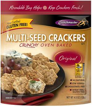 Crunchmaster Multi-seed Gluten-Free Crackers (Oven Baked)
