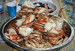 Roasted Dungeness Crab. Photo:  CC--bbum