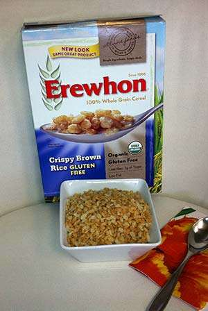 Erewhon Gluten-Free Crispy Brown Rice Cereal