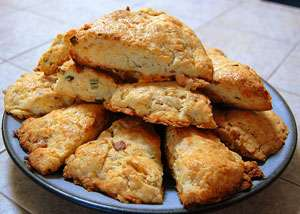 Vegan Gluten Free Lemon Coconut Cream Scones