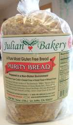 Purity Gluten-Free Bread by Julian Bakery