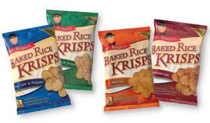 Mr. Krispers Sour Cream & Onion Baked Rice Krisps (Gluten-Free)