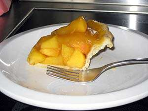Fresh Gluten-Free Peach Pie