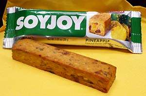 SOYJOY's Pineapple Gluten-Free Nutrition Bar