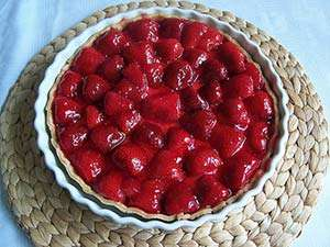 Fresh Gluten-Free Strawberry Pie