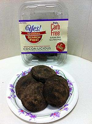 Yes! To Cookies Makes Sugar, Carb and Gluten-free Cookies