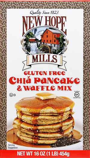 New Hope Mills Gluten Free Chia Pancake and Waffle Mix