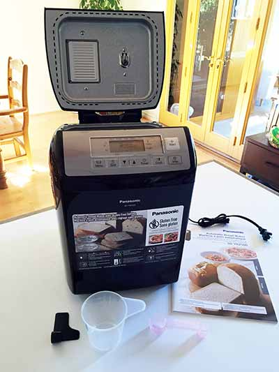 Panasonic SD-YR2500 Automatic Gluten-Free Bread Maker