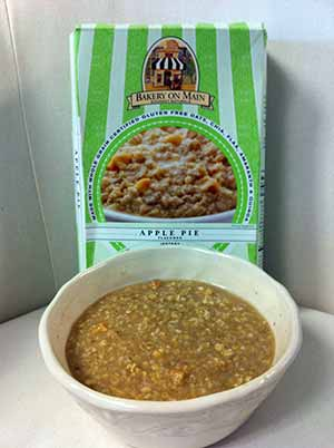 Bakery On Main Gluten Free Apple Pie Flavored Instant Oatmeal