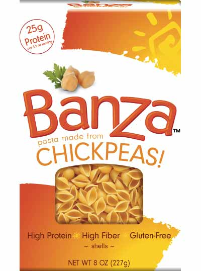 Banza Shells. Image Copyright Banza Inc.