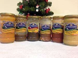 Bookbinder Specialities Gourmet Gluten-Free Vegetable Soup Sampler 6 Pack