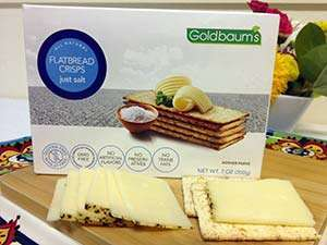 Goldbaums All Natural Just Salt Gluten-Free Flatbread Crisps