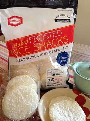 Gluten-Free Baked Frosted Rice Snacks By Kameda USA