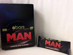 MAN Advanced Nutrition Chocolate Almond Gluten-Free Energy Bar