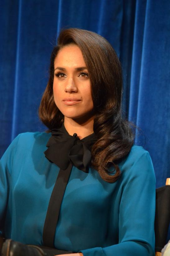 Soon to be member of the British royal family, Meghan Markle, says ditching gluten made her skin healthier and more radiant. Photo: CC--Genevieve