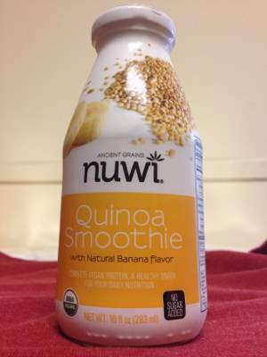 Nuwi Quinoa Smoothie with Banana