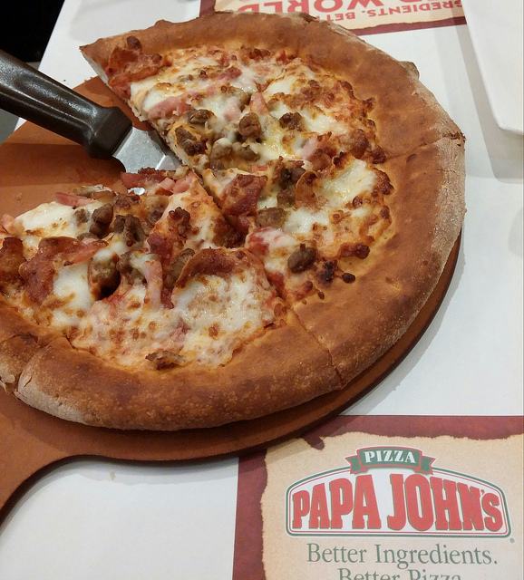 Papa John's says its new gluten-free pizza is not safe for people with celiac disease. Photo: CC-- imeguides
