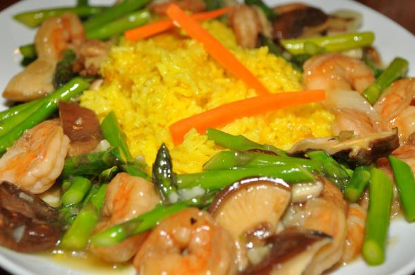 Gluten-free Sesame Shrimp Stir-Fry