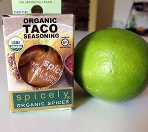 Spicely Organic and Gluten-Free Taco Seasoning