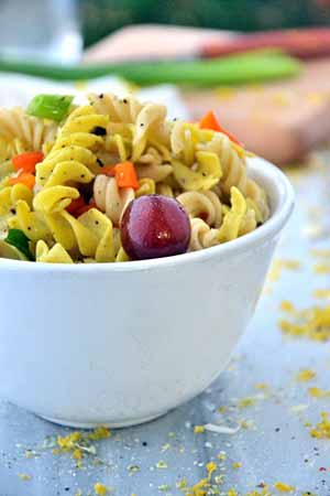 Coconut Curry Pasta (Gluten-Free)