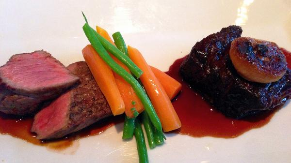 Easy gluten-free red wine sauce helps steak stand out. Photo: CC--Dale Cruse
