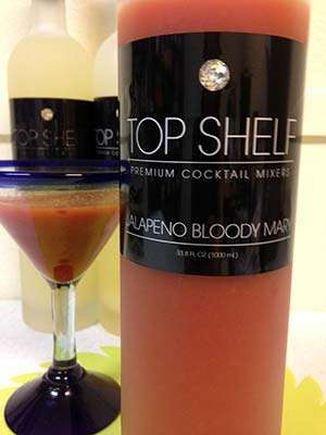 Top Shelf Premium Cocktail Mixers: Gluten-Free Jalapeno Bloody Mary Mix