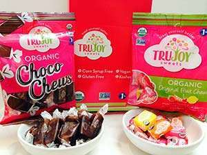 TruJoy Organic Original Fruit Chews and Choco Chews (Gluten-Free)