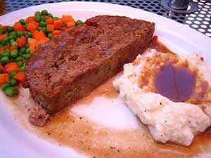 The finished gluten-free meatloaf. Photo: CC--Rick