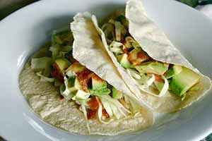 The finished fish tacos. Photo: CC--Little Blue Hen