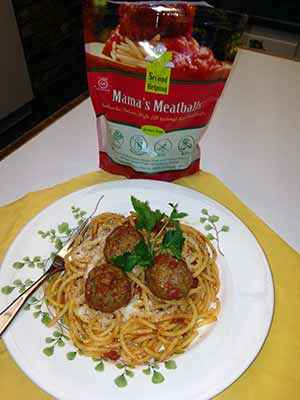 Second Helping Mama's Gluten-Free Meatballs