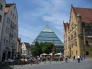 Photo: Ulm City Center--Wikimedia Commons