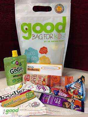 Good Bag For Kids Travel Pack 3 and Over Gluten Free Bag