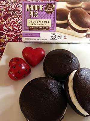 Gluten-Free Chocolate Vanilla Whoopie Pies by The Piping Gourmets