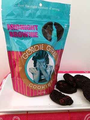 Gluten-Free Goodie Girl Cookies: Midnight Brownie