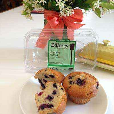 Sunray Snacks: The Bakery Gluten-Free Blueberry Muffins