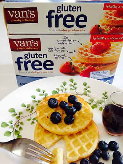 Van's Simply Delicious Totally Original Gluten-Free Waffles