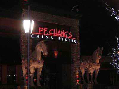 P.F. Chang's China Bistro. Photo: Wikimedia Commons--Injustifiable