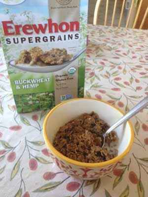 Attune Foods Erewhon Buckwheat and Hemp Gluten-Free Cereal