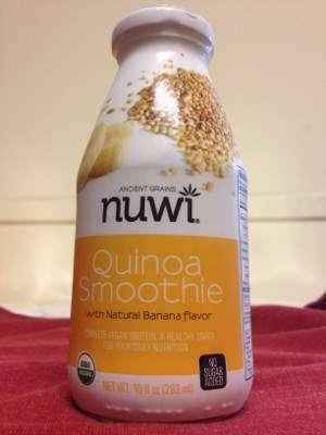 Nuwi Organic Gluten-Free Quinoa Smoothie with Banana