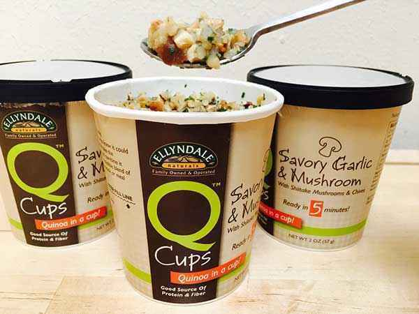 Ellyndale Naturals Q Cups™ Savory Garlic & Mushroom with Shiitake Mushrooms & Chives