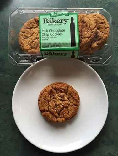 The Bakery at Walmart Gluten-Free Milk Chocolate Chip Cookies