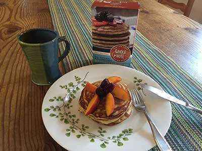 Whole Note All Natural & Gluten-Free Pumpkin Bread and Buttermilk Pancake Mixes