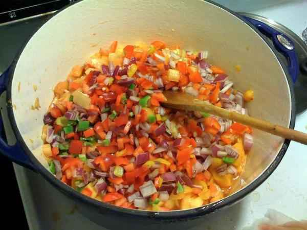 Fresh Peach and Roasted Tomato Salsa (Gluten-Free)